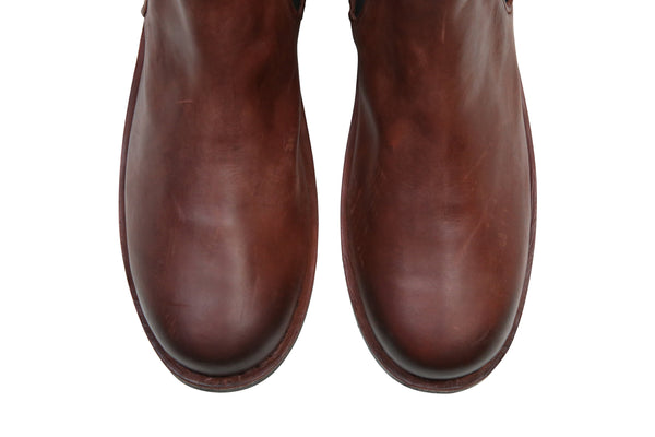 Hound and Hammer| Men's Leather Chelsea Boots, Oxblood