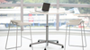 touchdown height adjustable table