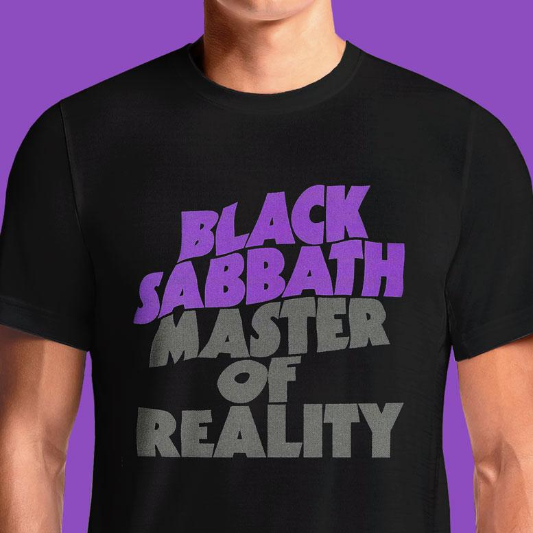 Master of Reality  - Buy Cool Graphic T-shirt for Men Women Online in India | OSOM