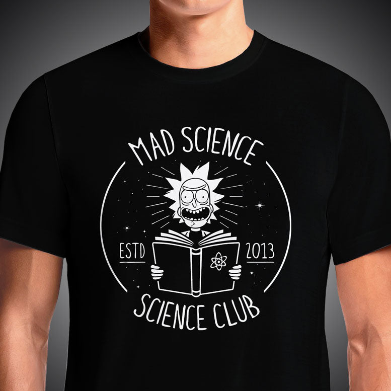 Mad Science Club  - Buy Cool Graphic T-shirt for Men Women Online in India | OSOM