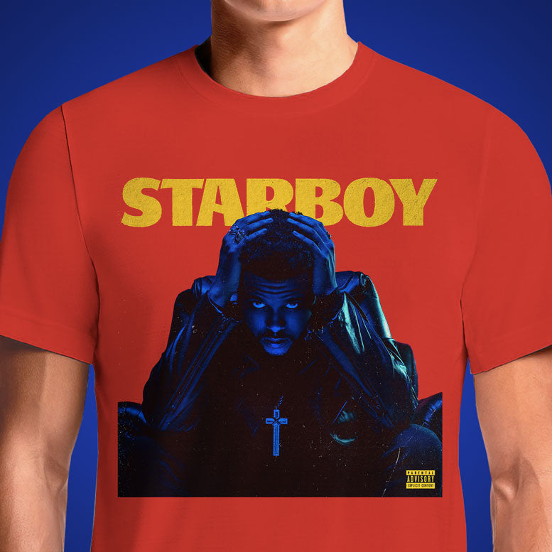 Starboy  - Buy Cool Graphic T-shirt for Men Women Online in India | OSOM