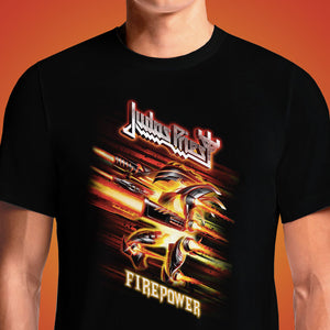 Judas Priest FIREPOWER  - Buy Cool Graphic T-shirt for Men Women Online in India | OSOM