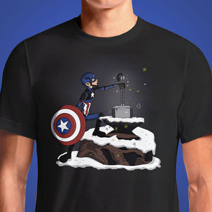 The Hammer and the Stone  - Buy Cool Graphic T-shirt for Men Women Online in India | OSOM