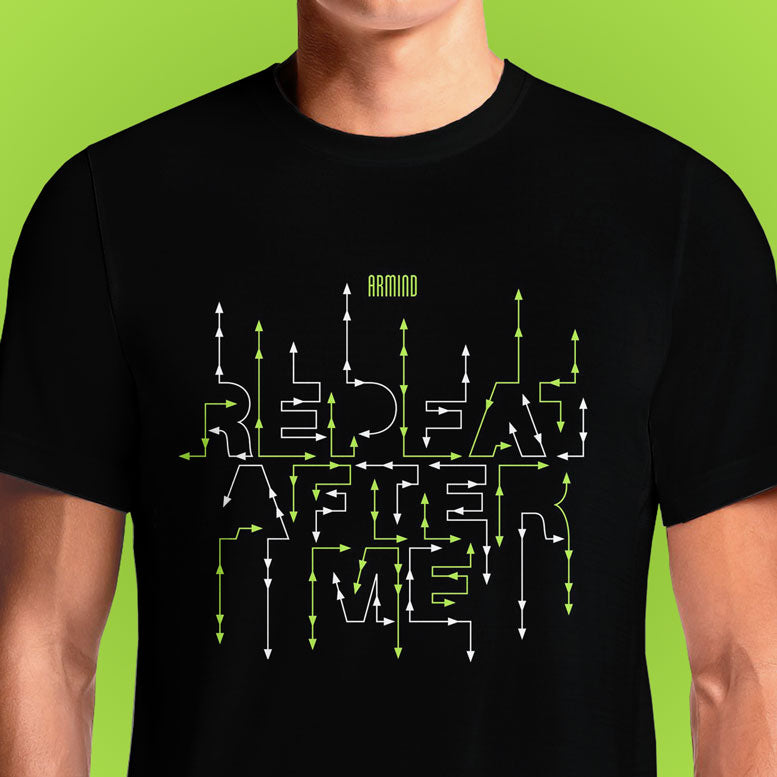 Repeate After Me  - Buy Cool Graphic T-shirt for Men Women Online in India | OSOM