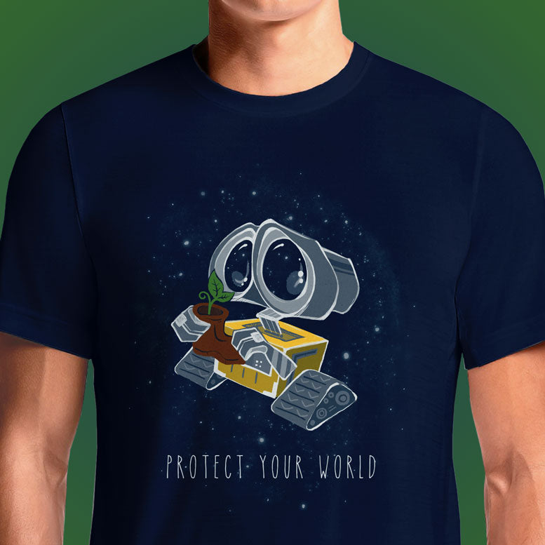 Protect your World  - Buy Cool Graphic T-shirt for Men Women Online in India | OSOM