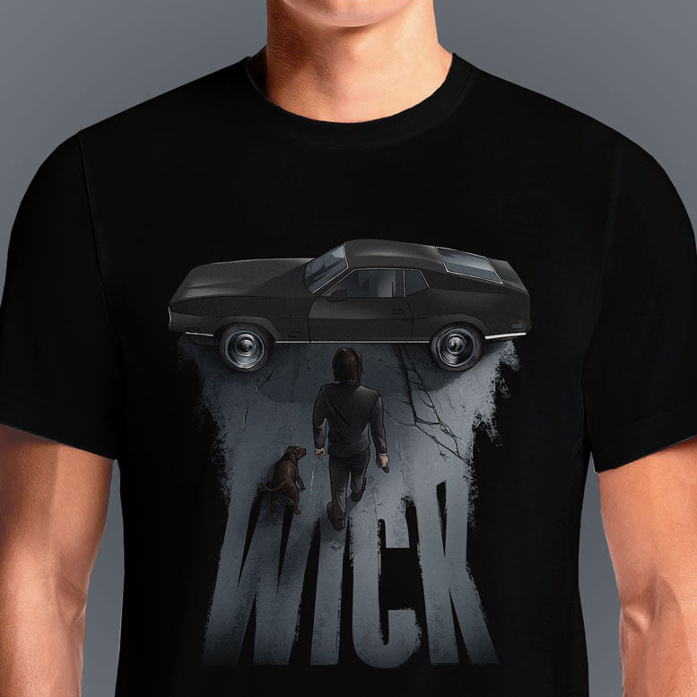 WICK  - Buy Cool Graphic T-shirt for Men Women Online in India | OSOM