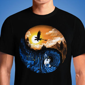 The Hidden World  - Buy Cool Graphic T-shirt for Men Women Online in India | OSOM