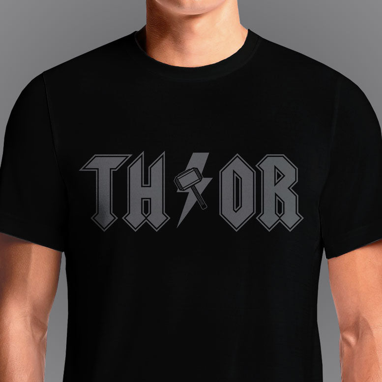 God of Thunder  - Buy Cool Graphic T-shirt for Men Women Online in India | OSOM