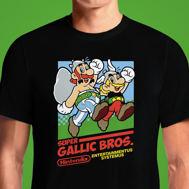 Super Gallic Bros  - Buy Cool Graphic T-shirt for Men Women Online in India | OSOM