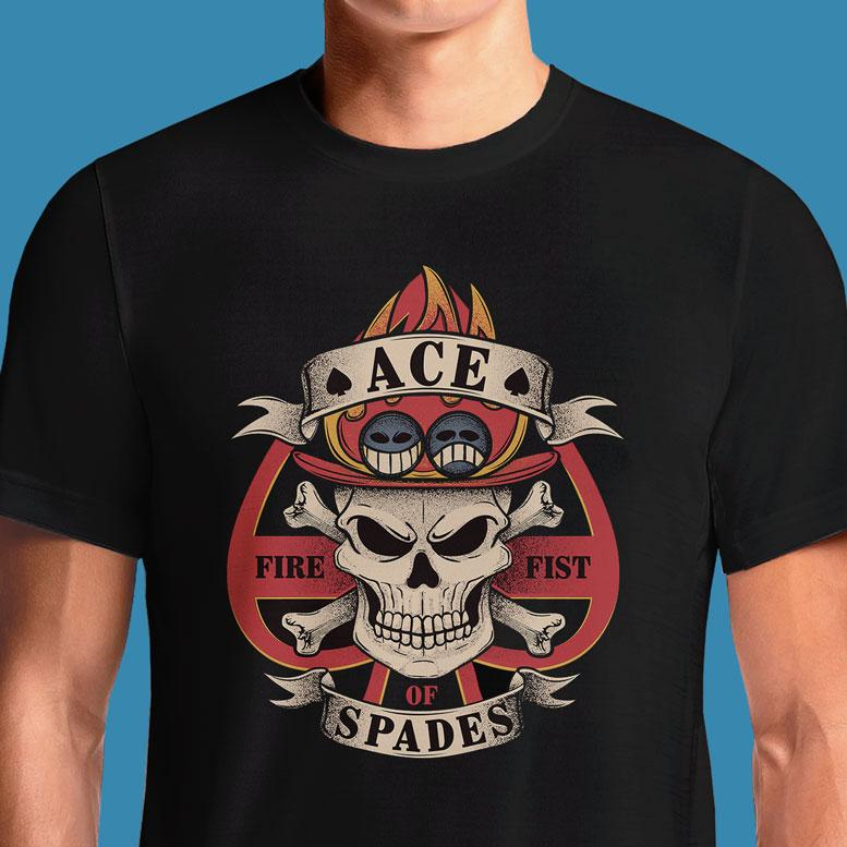 Ace of Spades  - Buy Cool Graphic T-shirt for Men Women Online in India | OSOM