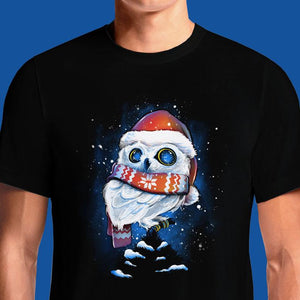 Christmas Owl  - Buy Cool Graphic T-shirt for Men Women Online in India | OSOM