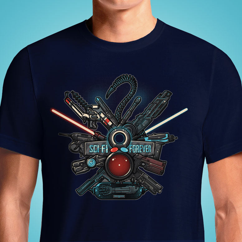 Sci-Fi Forever  - Buy Cool Graphic T-shirt for Men Women Online in India | OSOM