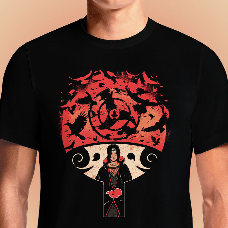 Uchiha's Raven  - Buy Cool Graphic T-shirt for Men Women Online in India | OSOM