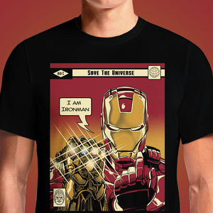 Save the Universe  - Buy Cool Graphic T-shirt for Men Women Online in India | OSOM