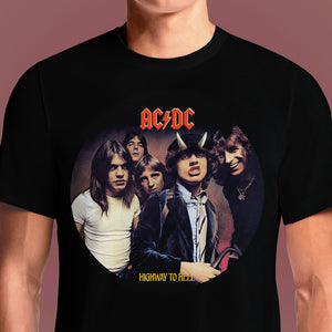 Highway To Hell  - Buy Cool Graphic T-shirt for Men Women Online in India | OSOM