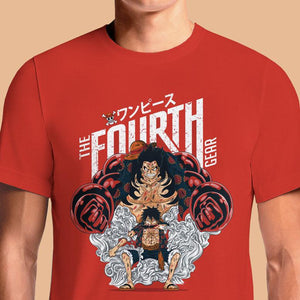 Luffy Gear Fourth  - Buy Cool Graphic T-shirt for Men Women Online in India | OSOM