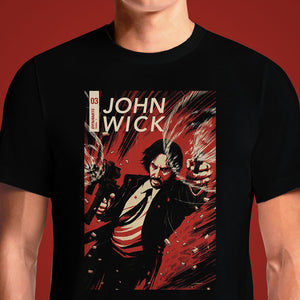 08085357 JOHN WICK #3 - Buy Cool Graphic T-shirt for Men Women Online in