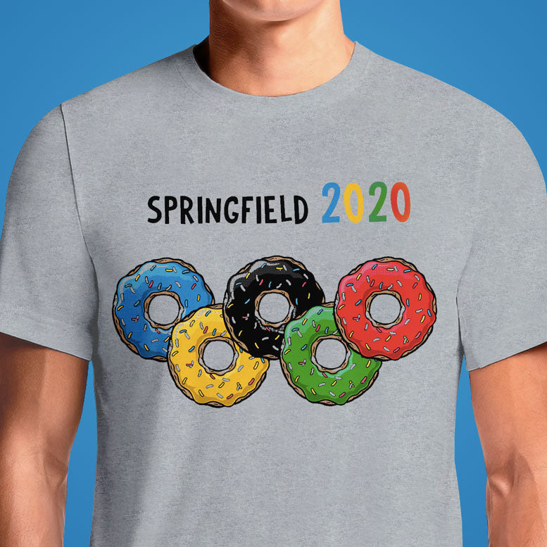 Springfield 2020 Olympic Games  - Buy Cool Graphic T-shirt for Men Women Online in India | OSOM