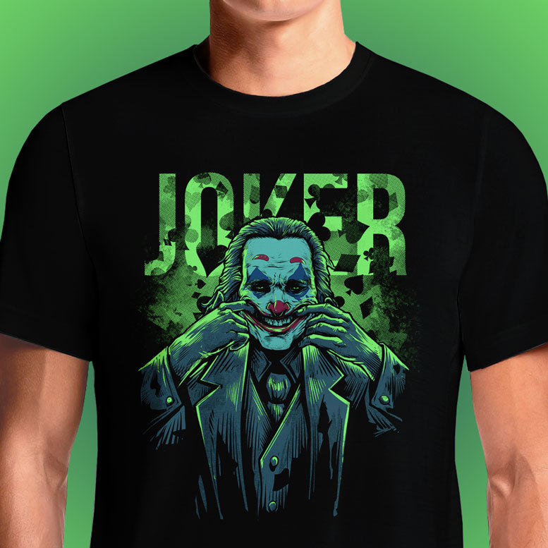 Joker  - Buy Cool Graphic T-shirt for Men Women Online in India | OSOM