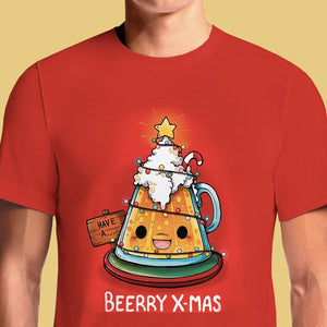 Beerry Xmas  - Buy Cool Graphic T-shirt for Men Women Online in India | OSOM