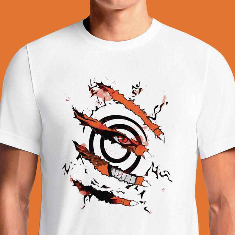 Demon Fox  - Buy Cool Graphic T-shirt for Men Women Online in India | OSOM