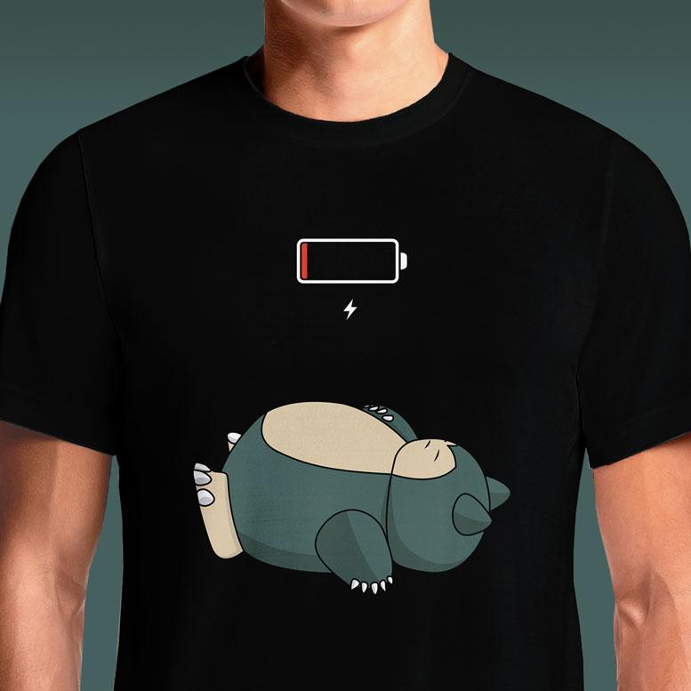 Low Battery  - Buy Cool Graphic T-shirt for Men Women Online in India | OSOM