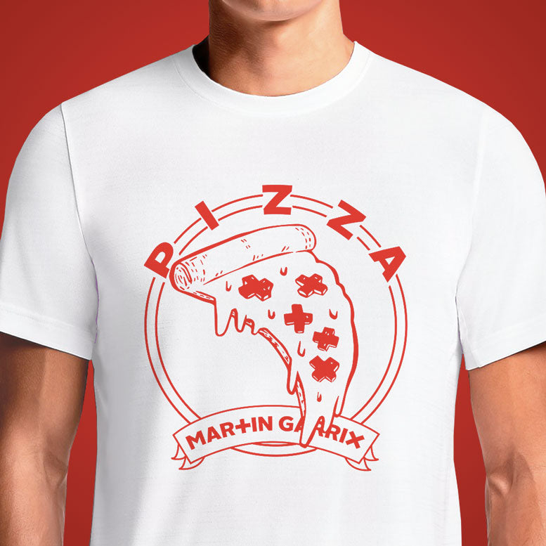 Martin Garrix Pizza  - Buy Cool Graphic T-shirt for Men Women Online in India | OSOM