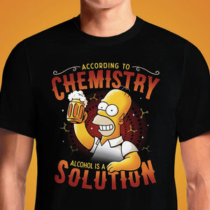 Beer Chemistry  - Buy Cool Graphic T-shirt for Men Women Online in India | OSOM