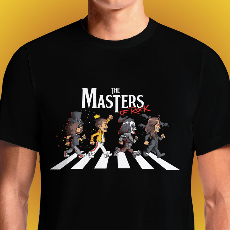 The Masters Of Rock  - Buy Cool Graphic T-shirt for Men Women Online in India | OSOM