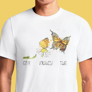 Give Yourself Time  - Buy Cool Graphic T-shirt for Men Women Online in India | OSOM