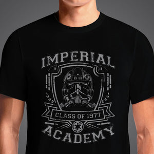 Imperial Academy 1977 TIE  - Buy Cool Graphic T-shirt for Men Women Online in India | OSOM