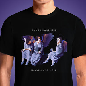 Heaven And Hell  - Buy Cool Graphic T-shirt for Men Women Online in India | OSOM