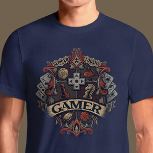 Gamer Crest  - Buy Cool Graphic T-shirt for Men Women Online in India | OSOM