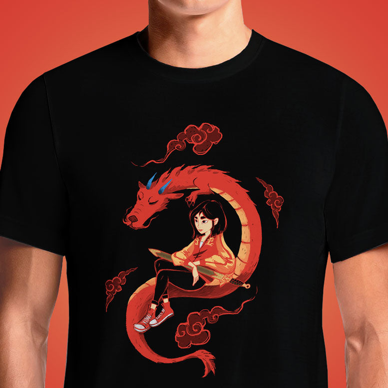 Be a Mulan  - Buy Cool Graphic T-shirt for Men Women Online in India | OSOM