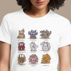 Cute Demons  - Buy Cool Graphic T-shirt for Men Women Online in India | OSOM