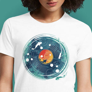 Sound of Water  - Buy Cool Graphic T-shirt for Men Women Online in India | OSOM