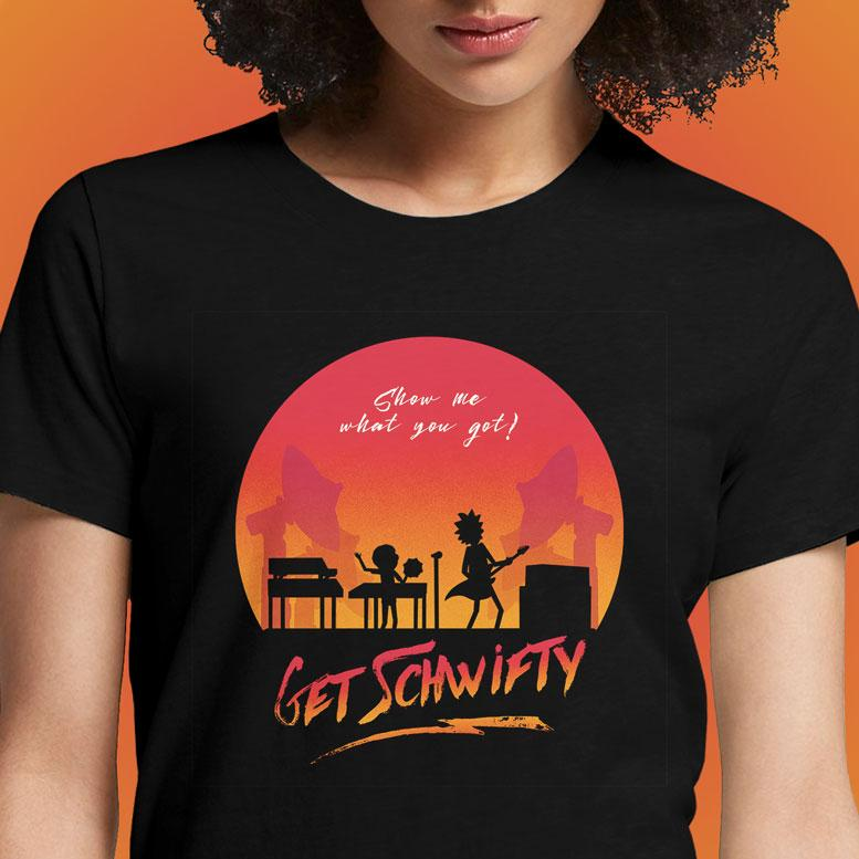 Schwifty  - Buy Cool Graphic T-shirt for Men Women Online in India | OSOM