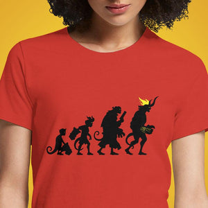Hellvolution  - Buy Cool Graphic T-shirt for Men Women Online in India | OSOM