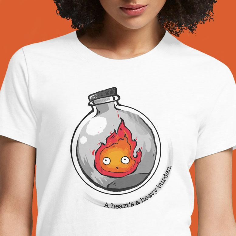 A Heart is a Heavy Burden  - Buy Cool Graphic T-shirt for Men Women Online in India | OSOM