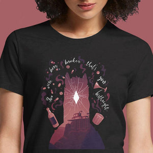 You Were Born Broken  - Buy Cool Graphic T-shirt for Men Women Online in India | OSOM