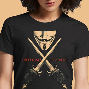 Vendetta  - Buy Cool Graphic T-shirt for Men Women Online in India | OSOM