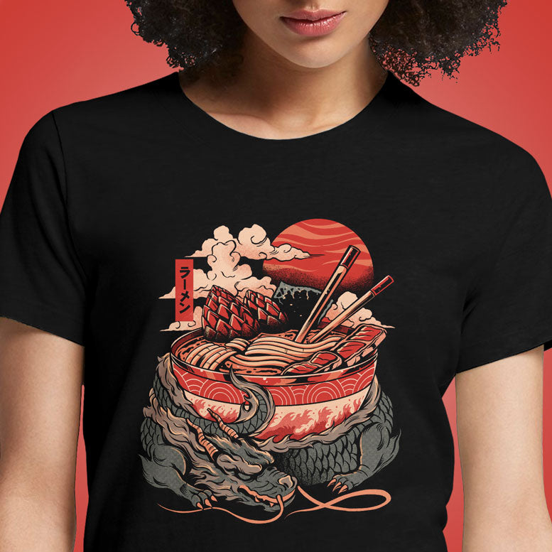 Ramen Dragon  - Buy Cool Graphic T-shirt for Men Women Online in India | OSOM