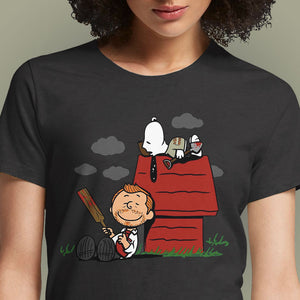 Peanuts of the Dead  - Buy Cool Graphic T-shirt for Men Women Online in India | OSOM