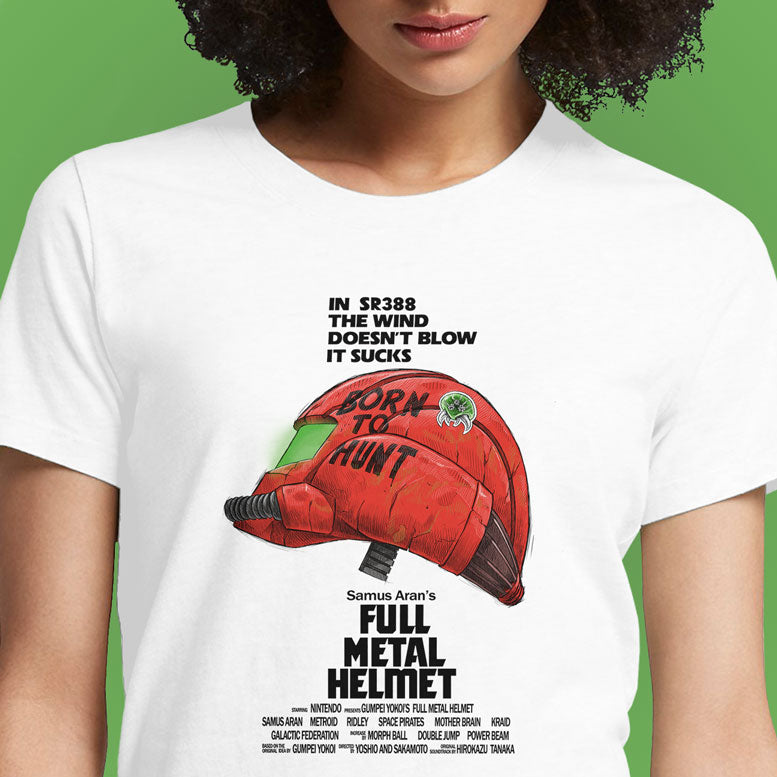 Full Metal Helmet  - Buy Cool Graphic T-shirt for Men Women Online in India | OSOM
