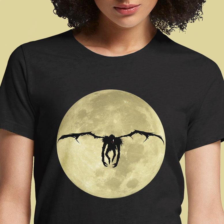 Ryuk and The Moon  - Buy Cool Graphic T-shirt for Men Women Online in India | OSOM