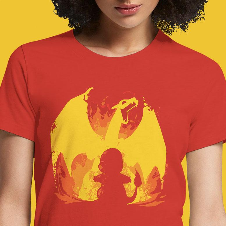 Char Fire Evolution  - Buy Cool Graphic T-shirt for Men Women Online in India | OSOM
