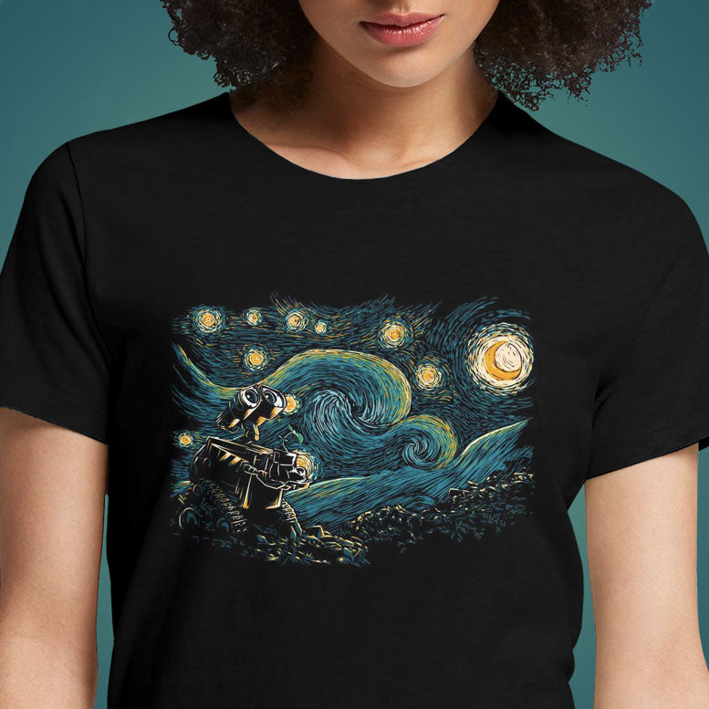 Starry Robot  - Buy Cool Graphic T-shirt for Men Women Online in India | OSOM