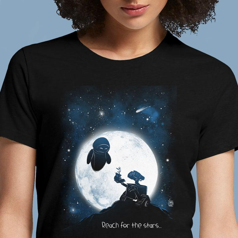 Reach for the Stars  - Buy Cool Graphic T-shirt for Men Women Online in India | OSOM