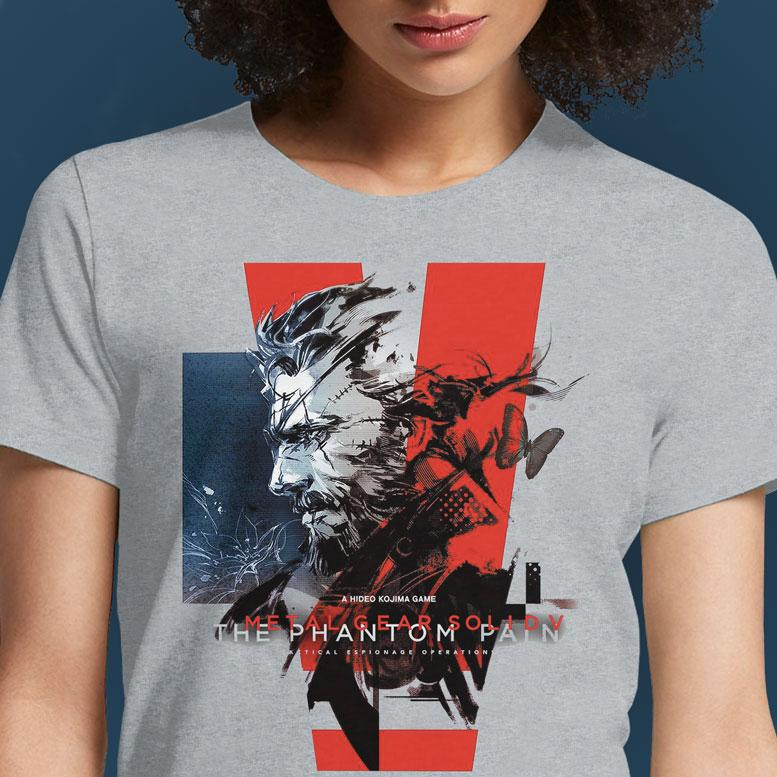 Phantom Pain  - Buy Cool Graphic T-shirt for Men Women Online in India | OSOM