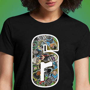 Six Siege  - Buy Cool Graphic T-shirt for Men Women Online in India | OSOM